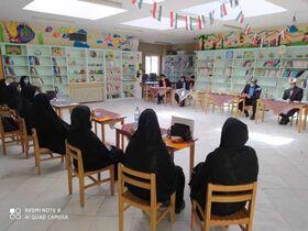 اجرای طرح خوانا با مشارکت کانون پرورش فکری شهرستان نهبندان