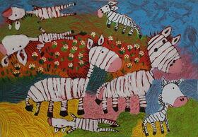 شش عضو کانون برگزیده مسابقه نقاشی لیدیسه چک شدند