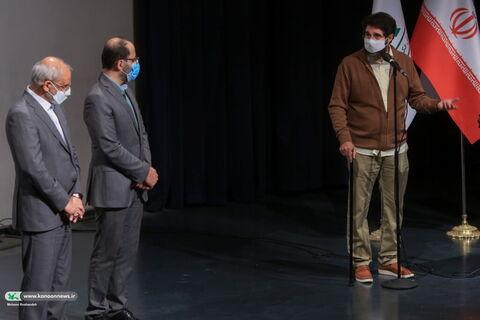 آیین تجلیل از دستاندرکاران فیلم «یدو» با حضور وزیر آموزش و پرورش و مدیرعامل کانون