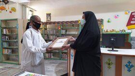 از مربیان فعال مراکز فرهنگیهنری حوزهی مرکزی بلوچستان و همکار بازنشستهی ایرانشهر تقدیر شد