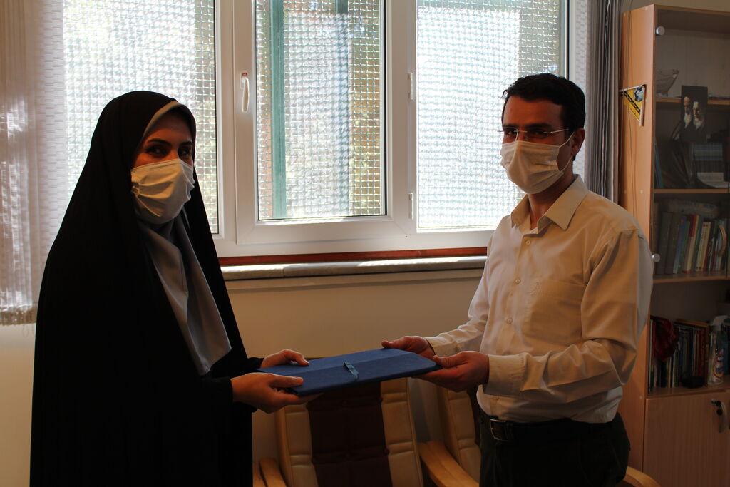 تقدیر از کارکنان مرد اداره کل کانون پرورش استان کردستان