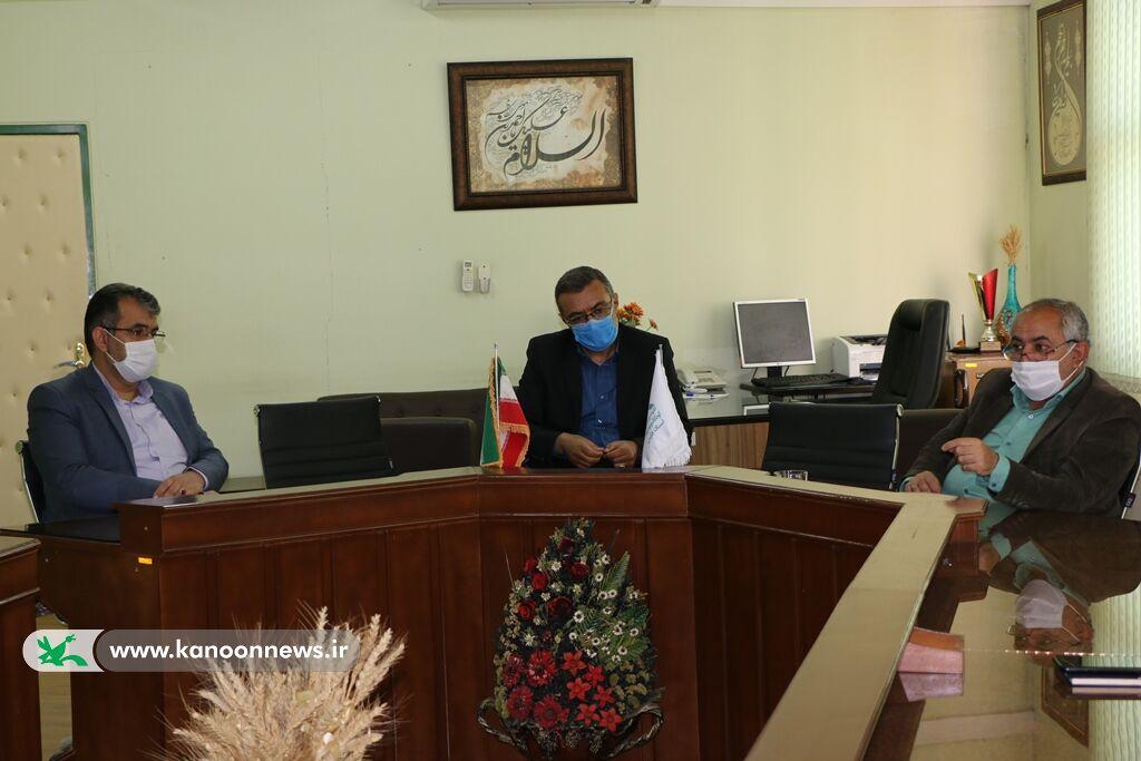 عملکرد کانون فارس در سامانه مجازی بررسی شد
