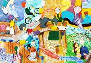 آثار برگزیدگان بخش نقاشی مهرواره «ستارههای بینشان»