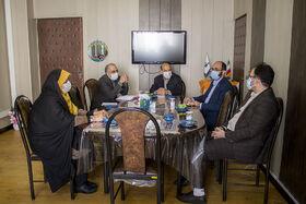 دیدار مدیر شعب بانک قرضالحسنه مهر ایران استان همدان با مدیرکل کانون استان همدان