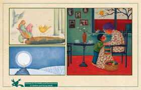 Three Kanoon Books Competing at Bologna Children's Book Fair Illustrators Exhibition 2021