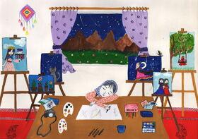 عضو کانون پرورش فکری مهاباد نشان برنز مسابقه نقاشی «هیکاری» ژاپن را کسب کرد.