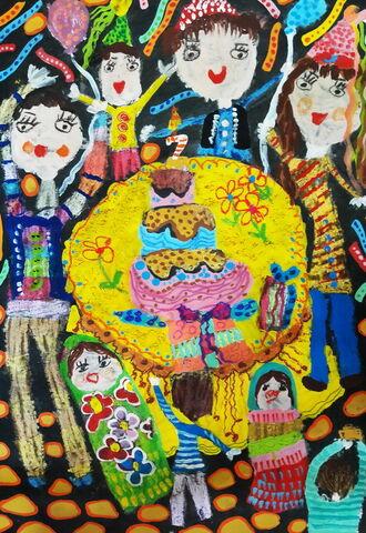 «سهیل ابوعلی» عضو ۶ ساله از شهرستان بهبهان خوزستان دارنده لوح تقدیر و نشان نقرهای مسابقه بینالمللی نقاشی کودکان انجمن هیکاری کشور ژاپن