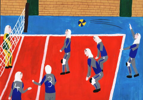 «فاطمه صدقی» ۱۳ ساله از شهرستان نقده در استان آذربایجان غربی برنده دیپلم افتخار مسابقه بینالمللی نقاشی کودکان انجمن هیکاری کشور ژاپن