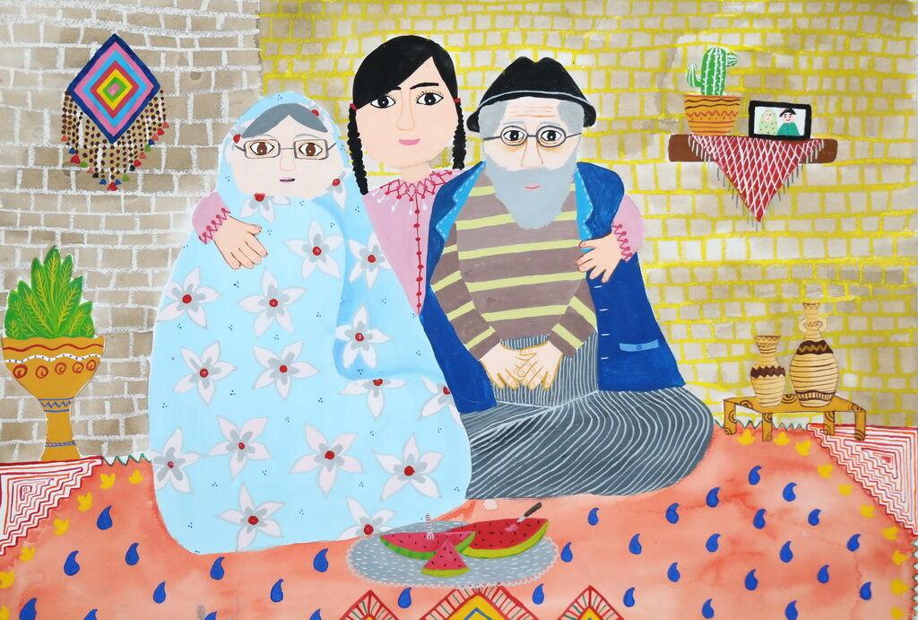 عضو کانون فارس در مسابقه نقاشی هیکاری ژاپن درخشید