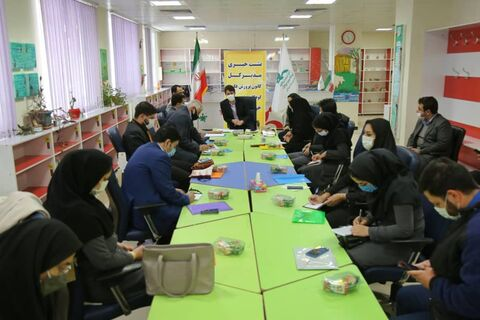 نشست خبری مدیرکل کانون پرورش فکری کودکان و نوجوانان خراسان شمالی