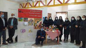 هفتسین نوروزی و برپایی نمایشگاه آثار در کانون پرورش فکری سیستان و بلوچستان