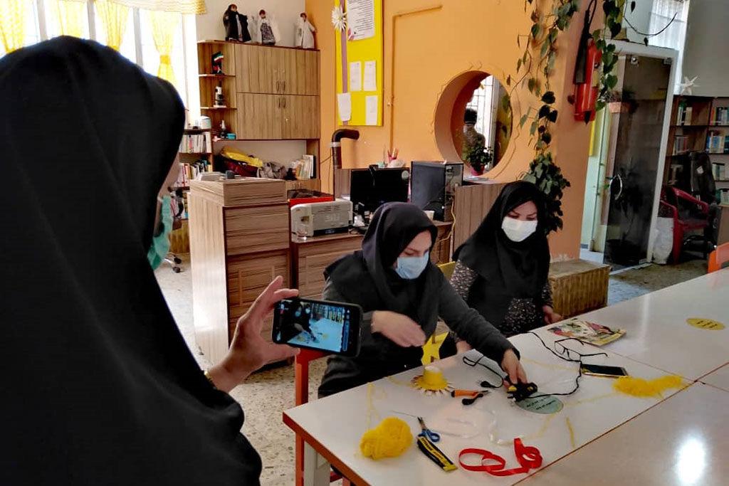 استقبال از بهار در مرکز فرهنگیهنری شماره ۴ همدان