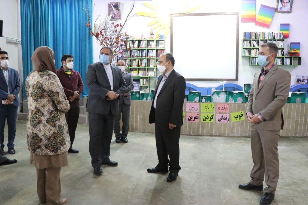 بازدید دکتر حسینی نماینده رامسر، تنکابن و عباس آباد در  مجلس شورای اسلامی از پروژه احداث سالن تخصصی نمایش عروسکی در رامسر