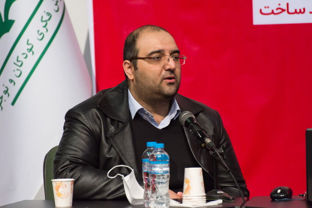 """Aidin Mehdi-Zadeh became the secretary of the """"Ideaazad"""" toy event of the Kanoon"""