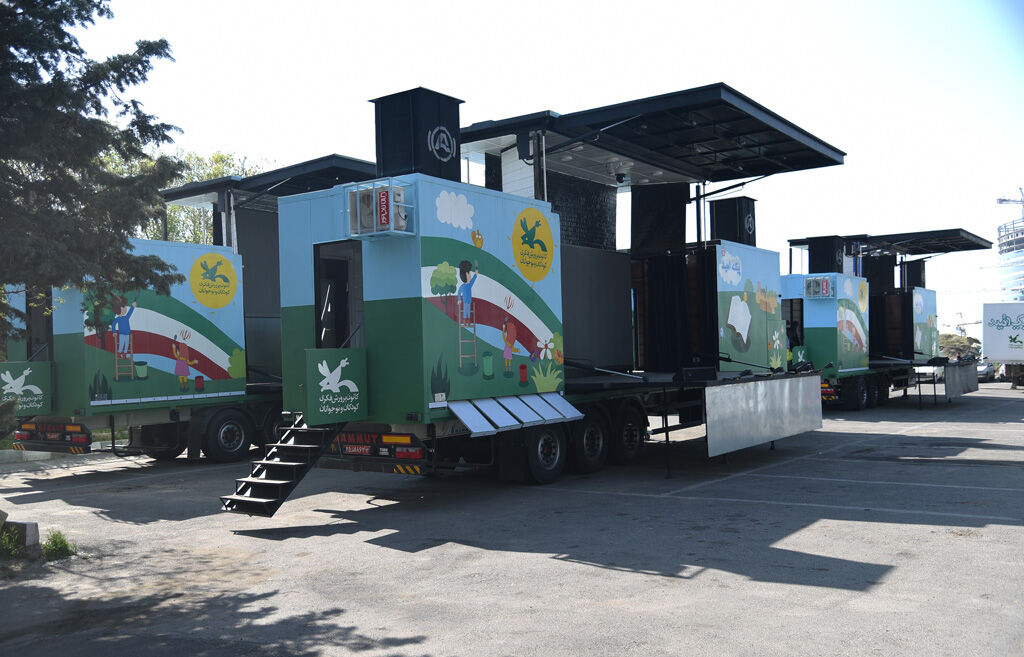 Unveiling Ceremony of Four New Kanoon Mobile Theaters