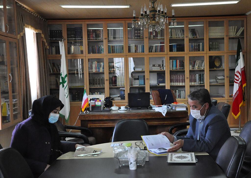 گفتگوی مدیرکل کانون استان اردبیل با مدیرمسئول فصلنامه تخصصی فلسفه آموزش