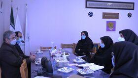 دیدار مدیرکل سازمان فنی و حرفهای قزوین با مدیرکل کانون استان