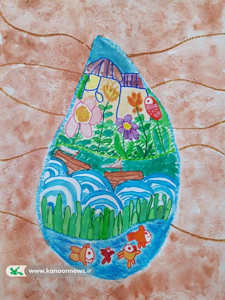 نقاشی آوینا علی اصغری