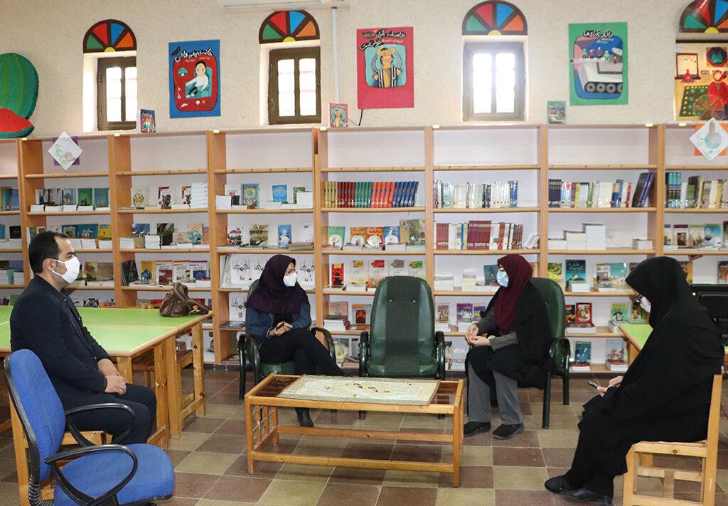 بازدید مدیرکل کانون از مرکز فرهنگی هنری رامیان