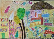 عضو هنرمند کانون استان کرمانشاه، رتبه اول نخستین جشنواره ملی نقاشی آب را کسب کرد