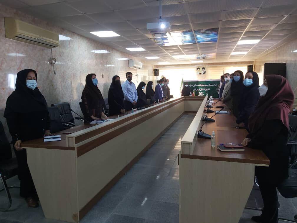 مسئول جدید حراست اداره کل کانون استان هرمزگان منصوب شد