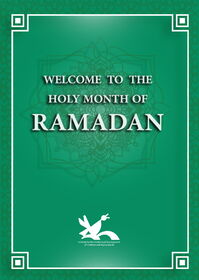 Welcome to the Holt Month of Ramadan