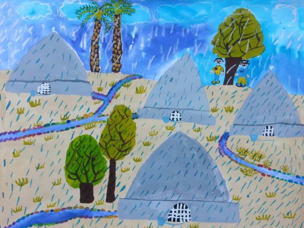 موفقیت دو عضو کانون فارس در نخستین جشنواره ملی نقاشی آب