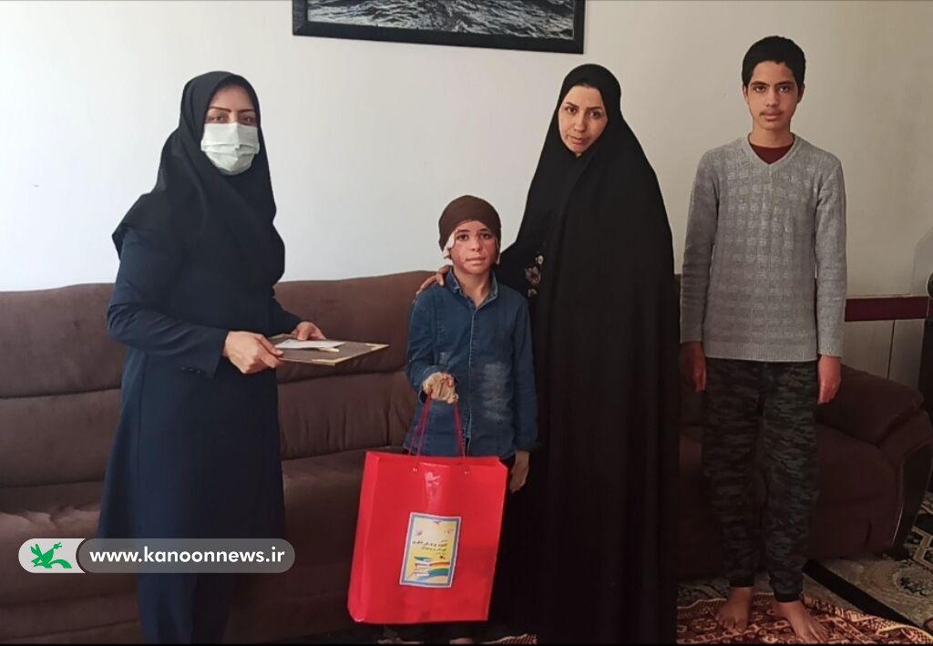 تقدیر کانون فارس از کودک قهرمان، محمدطاها آرمند