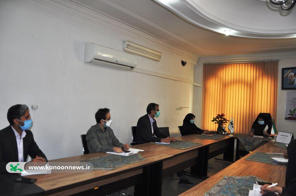 سومین جلسه هماهنگی  دبیرخانه استانی جشنواره بین المللی قصه گویی
