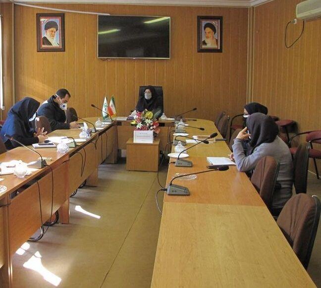 جلسه شورای مجازی کانون گلستان برگزار شد