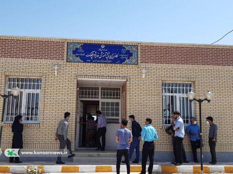 آیین افتتاح شصت و سومین مرکز فرهنگی هنری کانون خوزستان در شهر چم گلک اندیمشک