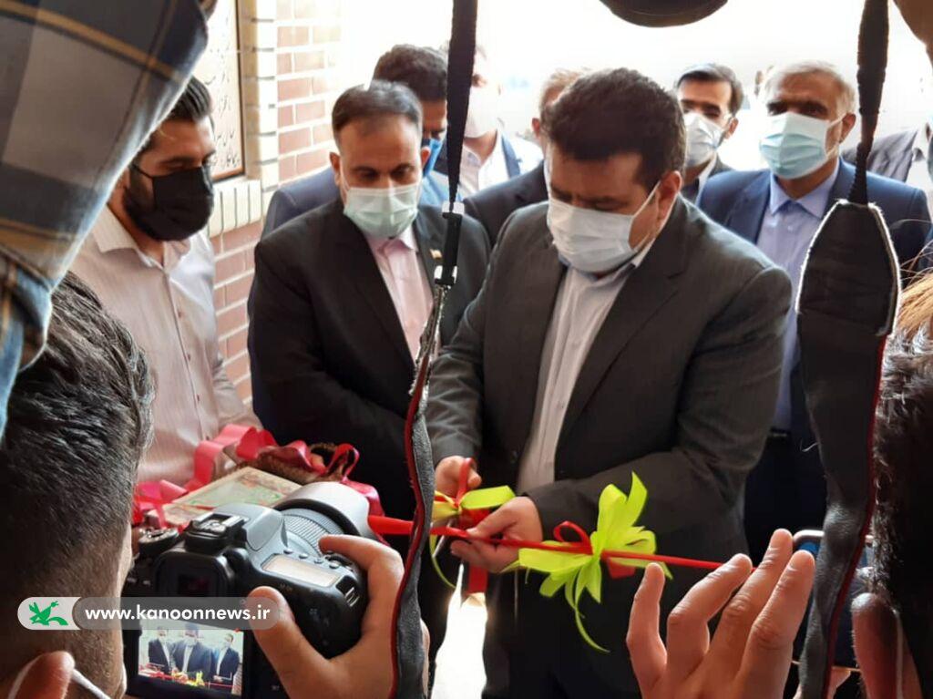 افتتاح شصت و سومین مرکز فرهنگی هنری کانون خوزستان در شهر چم گلک اندیمشک