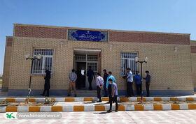 گشایش شصتوسومین مرکز فرهنگی هنری کانون خوزستان در شهر چم گلک اندیمشک