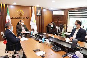 نشست مشترک مدیرانکل کانون پرورش فکری و پارک علم و فناوری گلستان