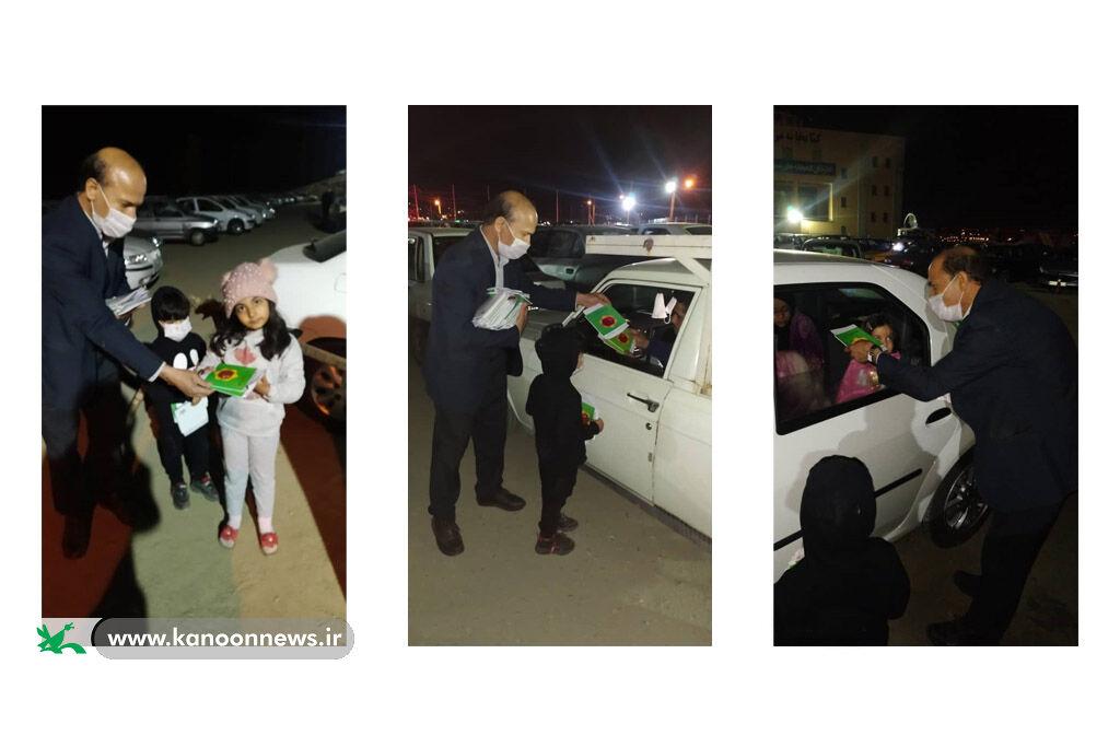 شبزندهداری خودرویی با کودکان در احیای شب بیستویکم ماه رمضان