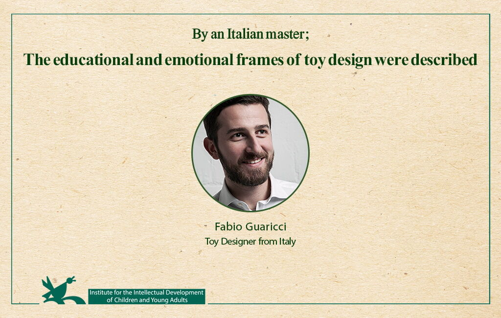 The educational and emotional frames of toy design were described