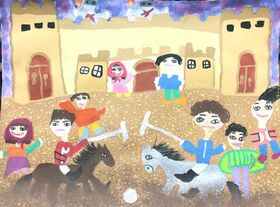 راهیابی کودکان و نوجوانان خوزستانی به مرحلهی نخست «اولین جشنوارهی جهانی نقاشی کودک کرمان»
