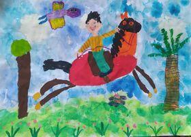 موفقیت  کودکان و نوجوانان فارس در مرحلهی نخست «اولین جشنوارهی جهانی نقاشی کودک کرمان»
