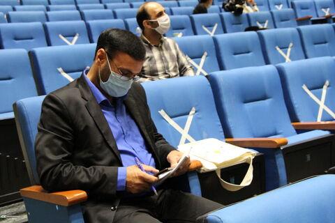 گزارش تصویری نشست خبری مرکز تخصصی خوانش متون کهن ادبی(شاهنامه خوانی )در کانون قم