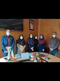 تجلیل از مسوول روابط عمومی کانون پرورش فکری گلستان