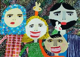درخشش اعضای کانون استان اردبیل در جشنواره جهانی نقاشی کودک کرمان