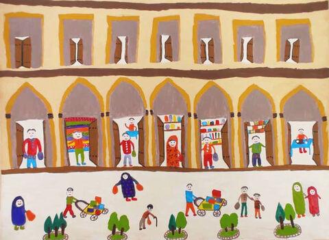 «آرام تیموری» عضو مرکز فرهنگیهنری لارستان استان فارس برنده گردنآویز طلای