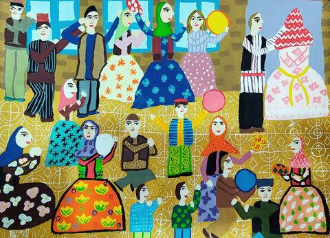 «زهرا پناهی» از مرکز شماره ۲ کانون پارسآباد اردبیل برنده مدال برنز