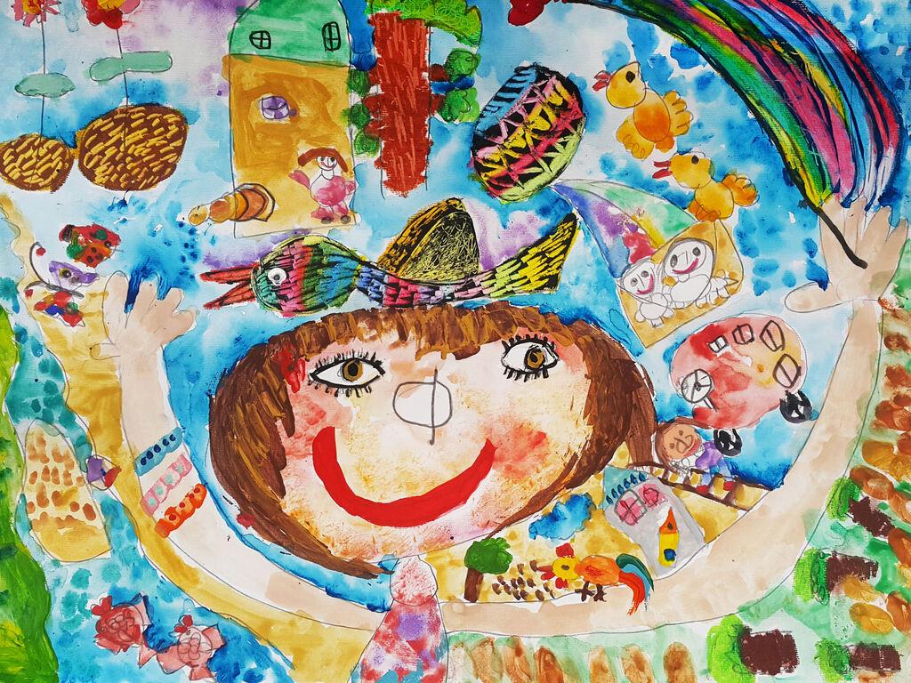 اعضای کانون در جشنواره جهانی نقاشی کودک کرمان درخشیدند