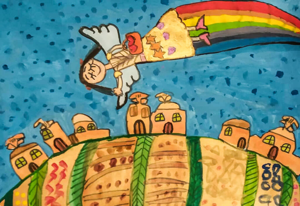 Kanoon Members Shined in Children International Painting Festival of Kerman (CIPFK)
