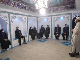 بازدید مدیر کل و کارشناسان کانون استان اصفهان از نمایشگاه چراغ راه