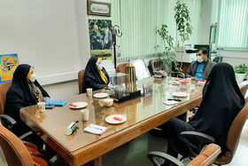 ضرابیزاده در دیدار با مدیرکل روابطعمومی استانداری خواستار توجه بیشتر مسئولان استان به حوزه کودک و نوجوان شد