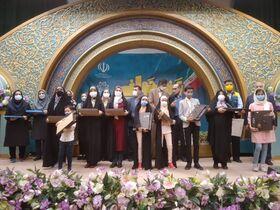"""اعضای کانون استان اصفهان در مسابقه """"دل نوشته ای به مدافعان سلامت"""" خوش درخشیدند"""