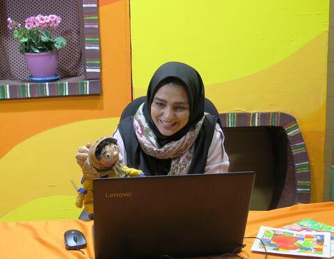 چند نما از برگزاری کارگاههای آموزشی-تخصصی برخط بهار در کانون استان قزوین