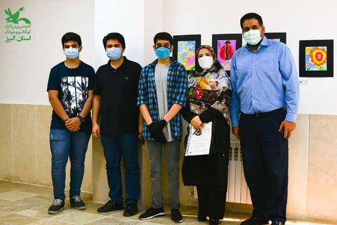 گزارش تصویری نمایشگاه نقاشی گروهی مرکز شماره ۳ کانون کرج